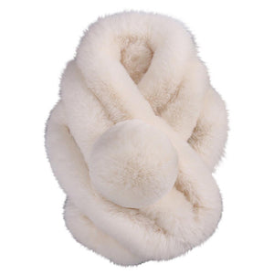 Women Winter Warm Scarf Fashion Thicken Fur Imitation Fur Grass Scarve fur scarf women accessories Winter Shawl Plush Scarfs
