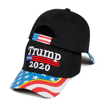 Load image into Gallery viewer, New TRUMP embroidered baseball cap men and women models cotton sun hats RTUMP 2020 fashion casual caps hip hop outdoor sun hat