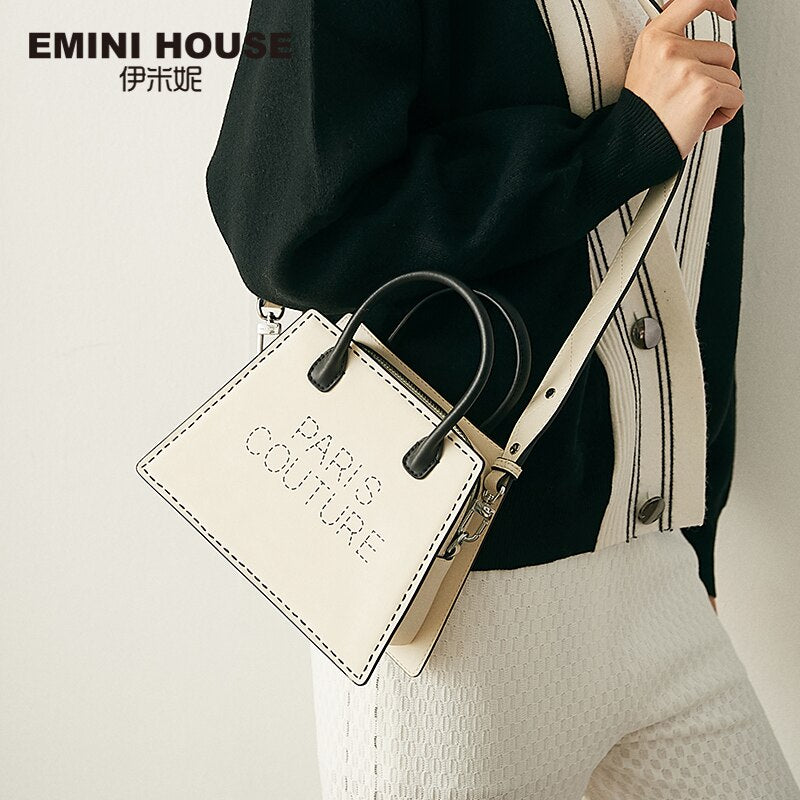 EMINI HOUSE Paris Series Advanced Custom Handbag Luxury Handbags Women Bags Designer Crossbody Bags For Women Shoulder Bag