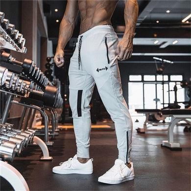2019 Newest Men Sweatpants Gyms Fitness Sports pants Bodybuilding Joggers Workout Trousers Men Running Cotton Pencil Pants men