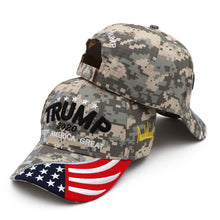 Load image into Gallery viewer, New Donald Trump 2020 Cap USA Baseball Caps Keep America Great Snapback President Hat 3D Embroidery Wholesale Drop Shipping Hats