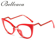 Load image into Gallery viewer, Bellcaca Eyeglasses Spectacle Frame Women Cat Eye Computer Optical Glasses Myopia For Ladies Female Transparent Clear Lens BC139 - Y O L O Fashion Store