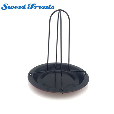 Sweettreats Chicken Roast Rack, Non-Stick BBQ Accessories Tool Grilling Baking Cooking Pan