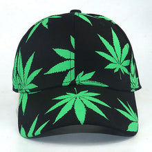 Load image into Gallery viewer, women men fashion Baseball Cap New Maple Leaf Pattern In The Dark Luminous Hat Fashion Street Style Black Snapback Cap - Y O L O Fashion Store