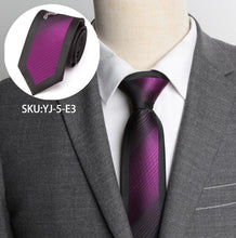 Load image into Gallery viewer, Mens Ties Formal Luxurious Striped Necktie Business Wedding Fashion Jacquard 6cm Ties for Mens Dress Shirt Accessories Bow Tie
