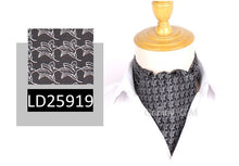 Load image into Gallery viewer, Fashion Classic Cravat Ties For Men Vintage Jacquard Cravat Ascot Necktie For Party British Gentleman Polyester Neck Tie