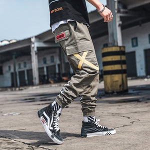 2019 New Fashion Cargo Pants Men Street Style Cotton Jogger Camouflage Pants Men Casual Slim Sweatpants Men
