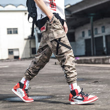 Load image into Gallery viewer, 2019 New Fashion Cargo Pants Men Street Style Cotton Jogger Camouflage Pants Men Casual Slim Sweatpants Men