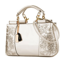 Load image into Gallery viewer, Nevenka Embroidery Women Bag Leather Purses and Handbags Luxury Shoulder Bags Female Bags for Women 2019