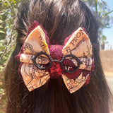 Marauder's Map Inspired Bow