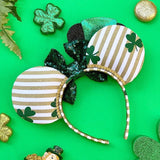 St. Patrick's Day Inspired Mouse Ears
