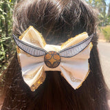 Golden Snitch Inspired Bow
