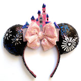 Firework Castle Inspired MB Mouse Ears