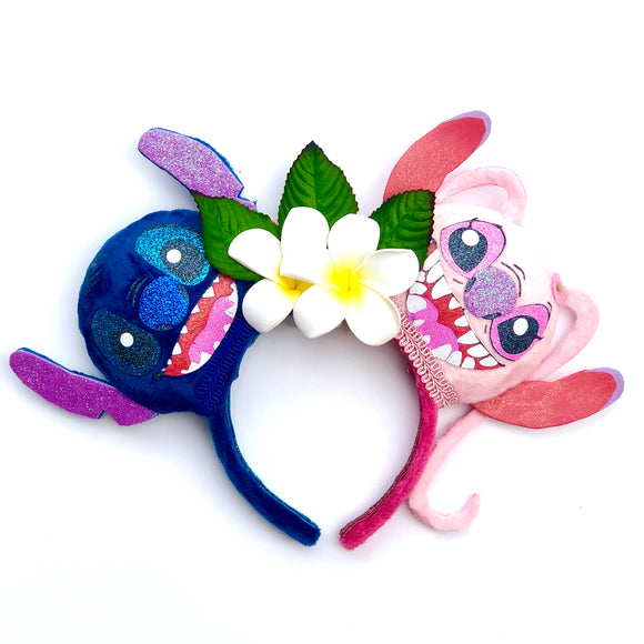 Stitch & Angel Inspired Mouse Ears