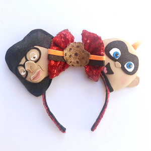 Edna Mode & Jack-Jack Inspired Mouse Ears