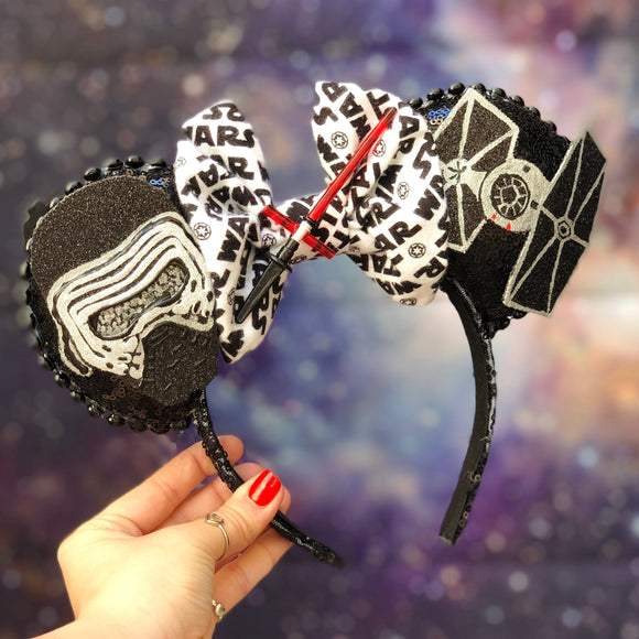 Kylo Ren Inspired Mouse Ears