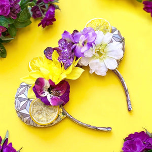 Violet Lemonade (Flower & Garden Festival) Inspired Mouse Ears