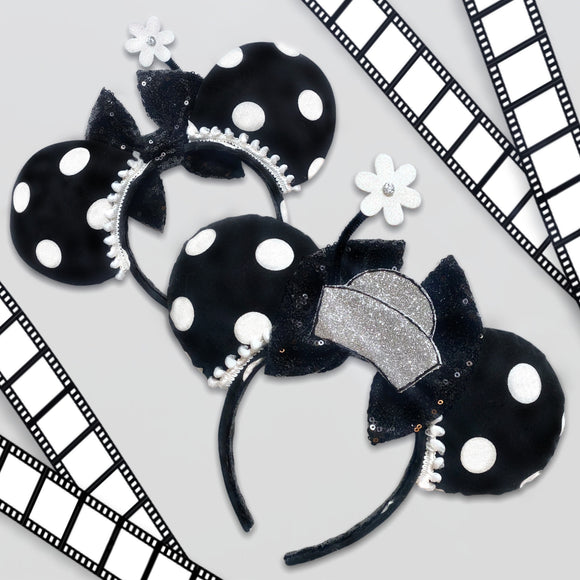 Vintage Minnie Inspired Mouse Ears