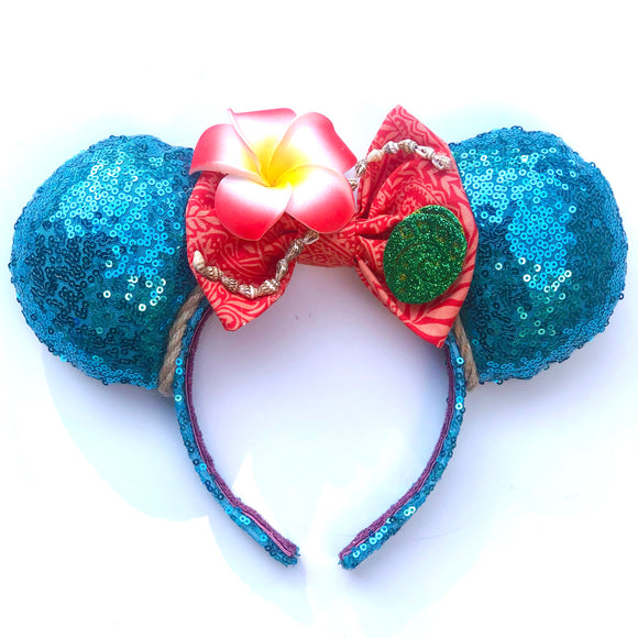 Moana Inspired Mouse Ears