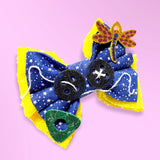 Twitchy Witchy Girl Bow