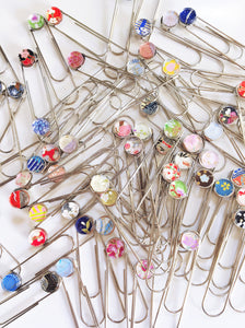 Colors of Spring - Jumbo Paper Clip/Bookmark
