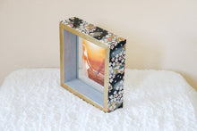 Load image into Gallery viewer, Black on Gold - Picture Frame decorated with Washi Paper