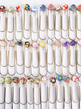 Load image into Gallery viewer, Colors of Spring - Jumbo Paper Clip/Bookmark