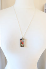 Load image into Gallery viewer, Midnight Dreams - Washi Paper Necklace and Ring Set