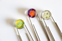 Load image into Gallery viewer, Bright Pattern Trio - Jumbo Paper Clip/Bookmark
