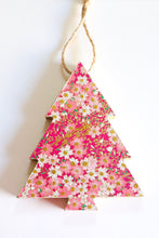 Load image into Gallery viewer, Sakura Fields - Wood Mini Tree Ornament