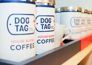 Dog Tag Coffee Tin
