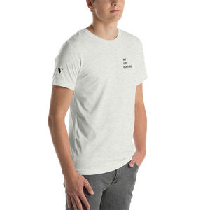 We Are Venture Stacked White Tee