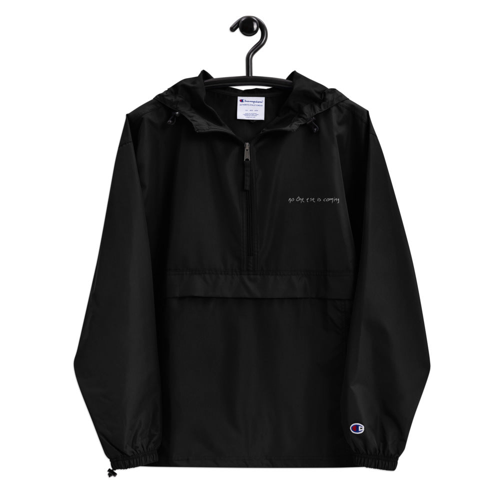Embroidered Packable Champion Jacket