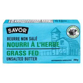 Savor - Grass Fed Unsalted Butter