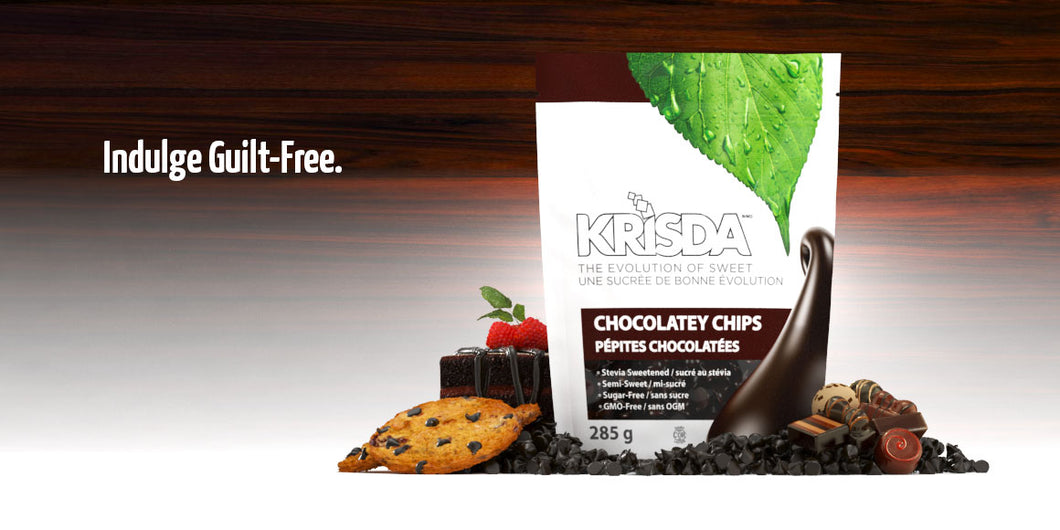 Krisda Semi-Sweet Chocolatey Chips
