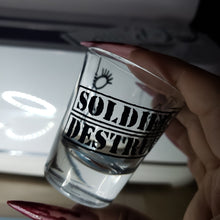 Load image into Gallery viewer, Shot Glasses Soldiers of Destruction