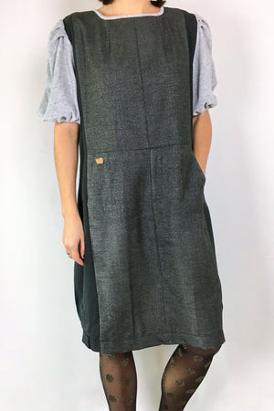 DONNA dress gray