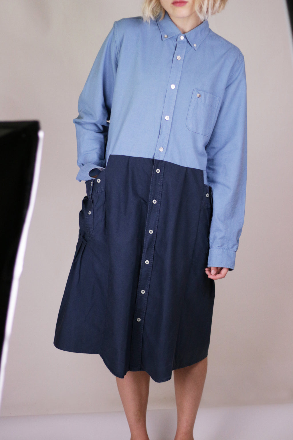 McBEAL dress blue