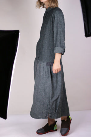 PHOEBE dress dark gray