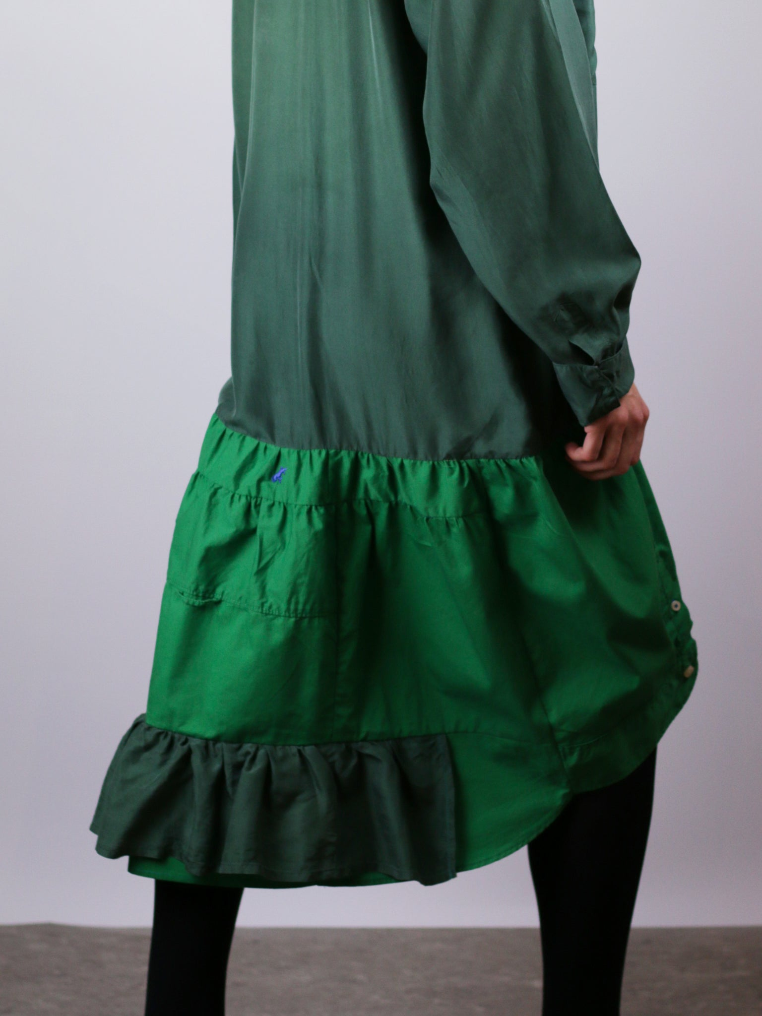 PHOEBE dress green