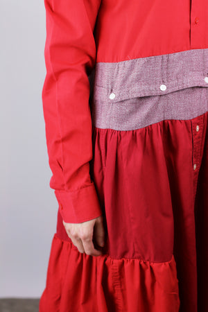 ARWEN dress red