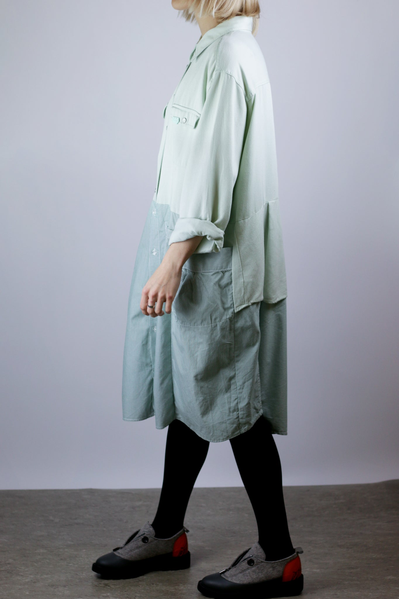 McBEAL dress pastel green