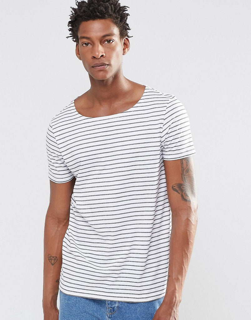 White Stripe T-Shirt