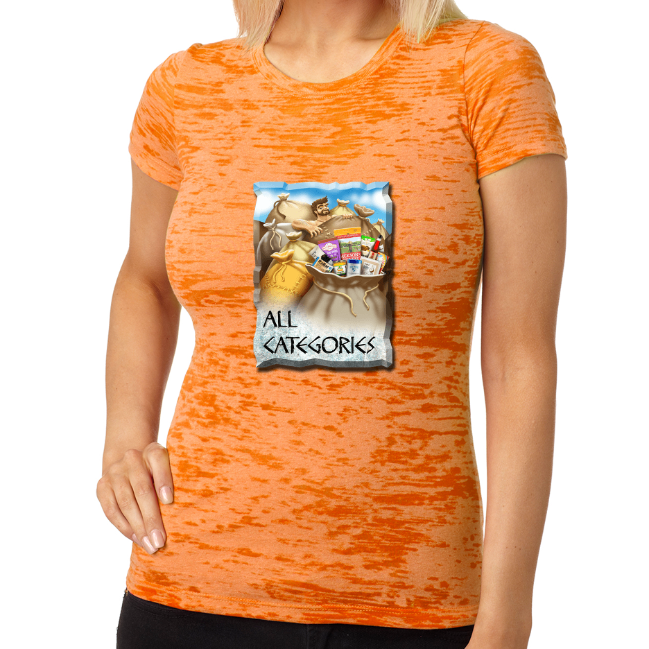 Next Level Ladies' Burnout Tee