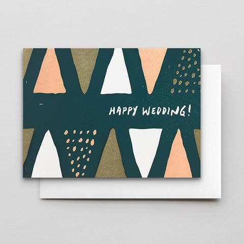 Happy Wedding Cones & Dots