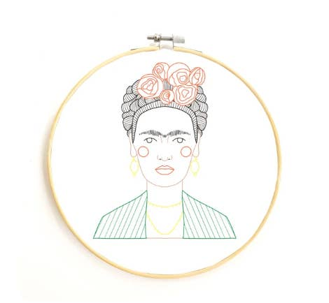 Frida DIY Embroidery Kit