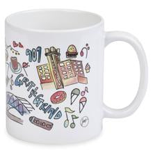 Load image into Gallery viewer, Memphis Illustrated Mug