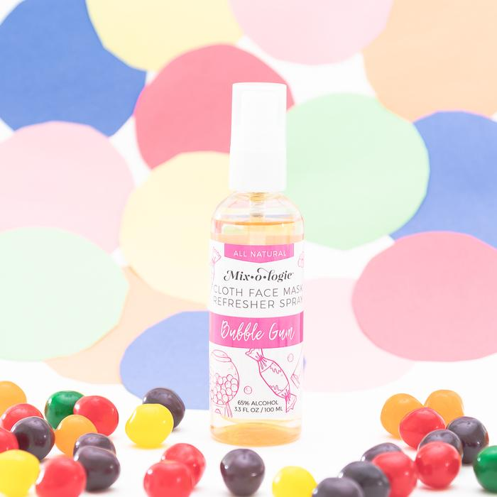 face mask refresher spray