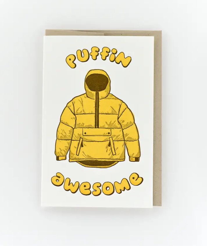 Puffin Awesome Card