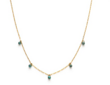 Load image into Gallery viewer, Turquoise Five Graces Necklace